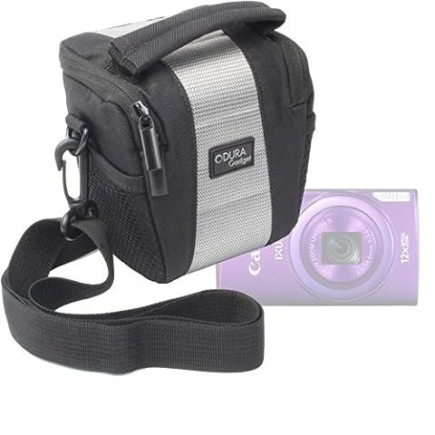 Petit étui de transport pour Canon IXUS 170, 165, 160, 275 HS et EOS M3 appareils photo numériques et Bridge Canon PowerShot SX410 IS et accessoires -