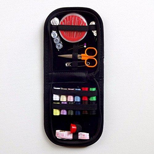 Preisvergleich Produktbild Generic T-Knopf Wal Tape issor Nadeln Box Faden Reise Zuhause Nähnadeln Schere Set Knopf Geldbörse Kit Cas Kit Etui
