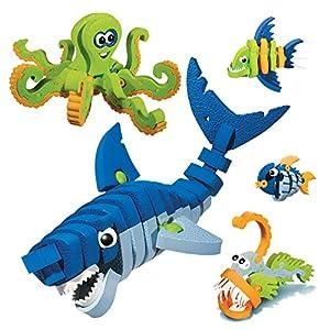 Bloco Zwierzeta Morskie: zestaw konstrukcyjny