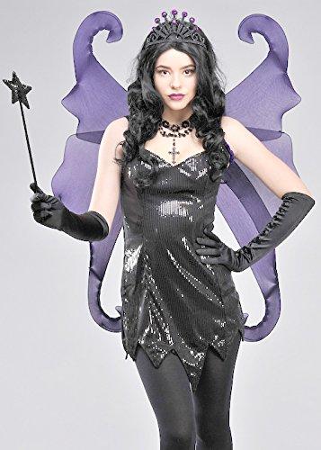 Lila Gothic Glitter Fantasy Fairy (Fairy Wings Gothic)
