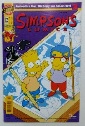 SIMPSONS Comics # 12 - Radioactive Man: Die Story über Fallout-Boy! Comic 1997 (Simpsons)