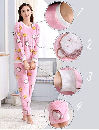 Remeehi Damen Schlafanzug Elfenbein - 6#