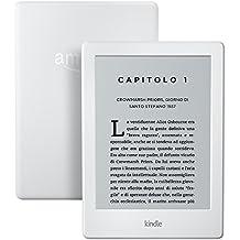 """Kindle Ricondizionato Certificato, schermo touch da 6"""" (15,2 cm) anti riflesso, Wi-Fi (Bianco) - Con offerte speciali"""