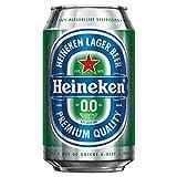 24 x Heineken 0% Bier (24 x 0,,33L) Alkoholfreies Bier Dosenbier (E.U.)