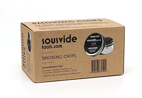 Copeaux pour aliments froids fumeurs 4 x 250 ml