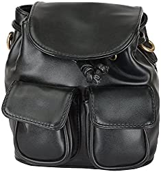 Moda King Women's Handbags (Black) (ModaKing013)