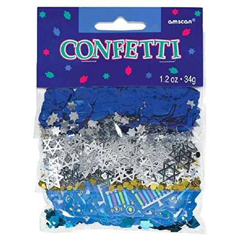 Amscam 360518 Hanukkah Icons Confetti