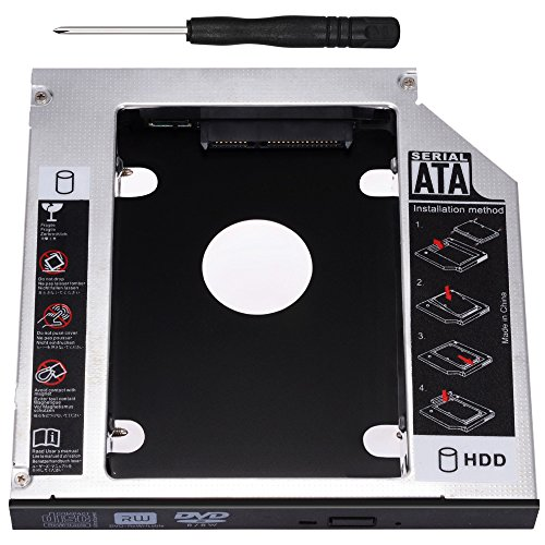 Zacro SATA HDD HD SATA Segundo 2.5 '' Disco Duro Caddy/Optical