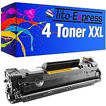 4x Eurotone Patrone für HP LaserJet Pro M-1536-dnf