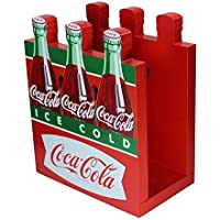 Wooden Fishtail Six Pack Coca-Cola Napkin Holder by Coca-Cola