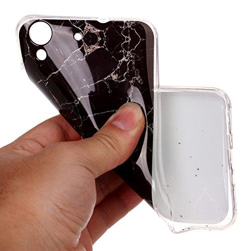DBIT iPhone 7 Plus Case, Marmo TPU Custodia protettiva Cover per Apple iPhone 7 Plus,Marble Verde nero - Marmo TPU