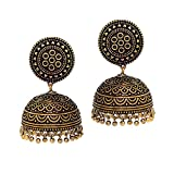 Jaipur Mart 40.00 Grams Oxidised Gold Pl...