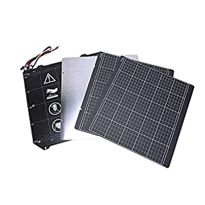 Andifany 3D Printer Parts Clone I3 Mk3 3D Printer Heated Bed Magnetic Mk52 Heatbed 24V Assembly