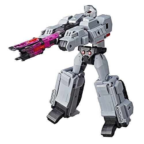 Transformers Toys Megatron Cyberverse Ultimate Class Action Figure  Repeatable Fusion Mega Shot Action Attack Move Toys for Kids 6 and Up, 11.5 Inch