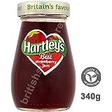 Hartley's Best Strawberry Jam 340g Fruchtige Erdbeerkonfitüre