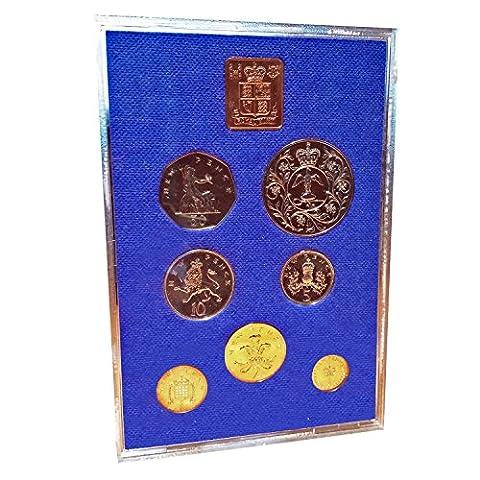 1977 Proof Queen Elizabeth's Silver Jubilee! Comes with the Original Outer Cover! Mint Condition 1977 British Coin Set! Etat Neuf Pièces de Monnaie / Mint Condition Münzen / Mint Condition Monete / Perfecto Estado