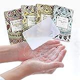 Blue Vesse Tragbare Seifenpapierblätter Mini Reisen Einweg Seife für Hände, Körper & Kleidung...