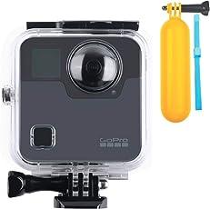 Unterwassergehäuse für GoPro Fusion Action cam, bis zu 40m Wasserdichte Gehäuse Schutzhülle für GoPro Fusion Sport Kamera