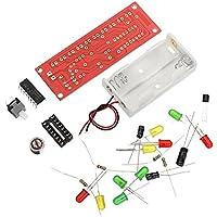 Ils - Control de Voz 3 Piezas CD4017 LED Intermitente Kit Kit de Bricolaje electróico
