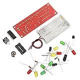 Bluelover Kit de bricolage électronique CD4017 à commande vocale
