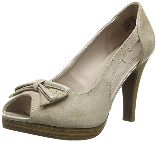 Jane Klain 293 167 Damen Peep-Toe Pumps Beige (Beige 409)