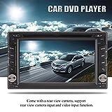 Swiftswan 2 Din Auto DVD 6,2 Zoll GPS Navigation MP5 Player Universal Autoradio Radio (Farbe: Schwarz & Grau)