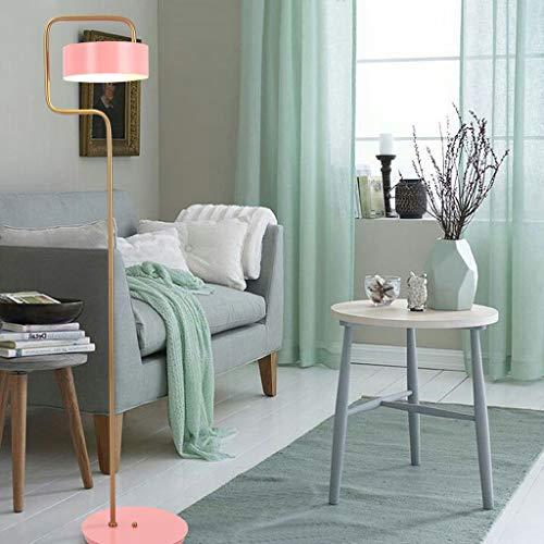 Lampadaires- Lampadaire nordique salon chambre chevet étude simple moderne créatif lampe de table verticale taille: 150cm de haut, châssis 32cm * 2.5cm, abat-jour 25cm * 9cm