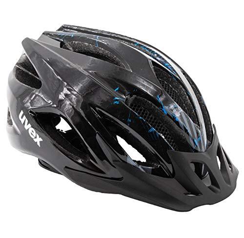 Uvex Fahrradhelm Viva 2 Aosta Black/Blue 52-57 cm Kopfumfang UVP 69,90 €