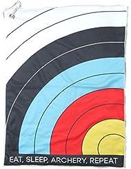 New Socx Tir à l'arc Logo microfibre / Terry Serviette Classique Takedown arc à poulies