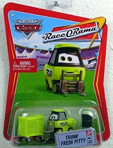 Disney / Pixar CARS Movie 1:55 Die Cast Car Series 4 Race-O-Rama Trunk Fresh Pitty by Disney