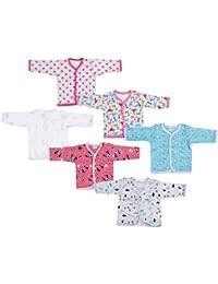 FARETO Baby Shirt (109_Multicolor_0 - 6 Months)