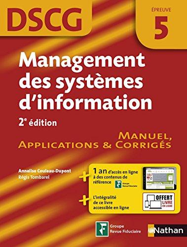 DSCG 5 - Management des systèmes d'information par Régis Tombarel