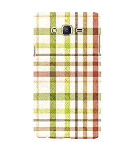 Checks In Multi Colour Pattern 3D Hard Polycarbonate Designer Back Case Cover for Samsung Galaxy On7 :: Samsung Galaxy On 7 G600FY