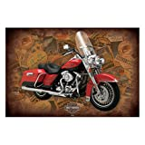 Poster rolled up Harley Davidson Design: Road King