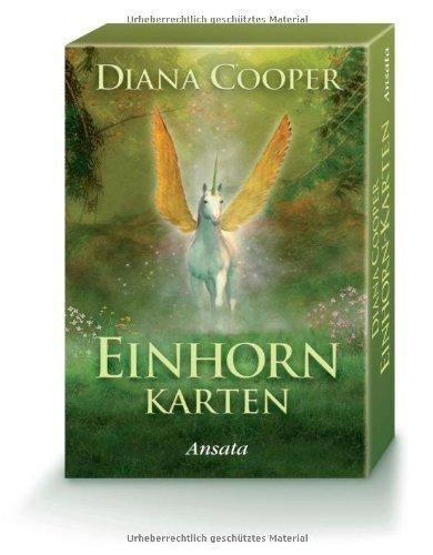 Einhorn-Karten von Diana Cooper (20. Oktober 2008) Sondereinband - Einhorn-karten