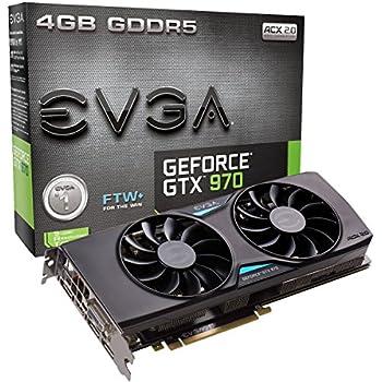 EVGA GeForce GTX 970 FTW, ACX 2.0, 4GB (3.5GB+0.5GB)