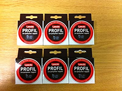 Leeda Profil Co-Polymer Tippet 50m*6 Sizes*3-10lb*2-7X*Fly Fishing Leader Line from Leeda