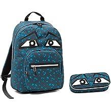 f9f7984795 ZAINO INVICTA - OLLIE PACK FACE + Portapenne - blu - tasca porta pc padded -
