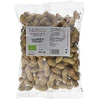 Nuteco Cacahuete Tostado BIO - 5 Paquetes de 400 gr - Total: 2000 gr