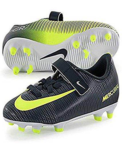 Nike 852496-376, Chaussures de Football Mixte Enfant Vert