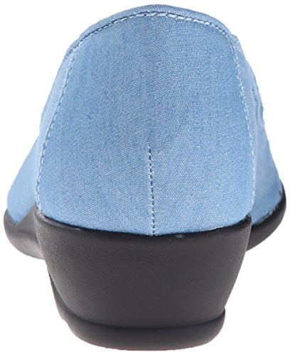 Light Hush Chambray Blue Flat Puppies Rory Womens Soft Style Sqyrcq54wT