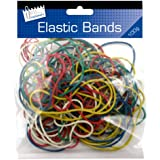 Just Stationery Coloured Elastic Bands