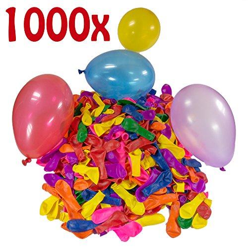 -bomben Mega-Pack Wasser-ballons Luft-ballon Rot Gelb Lila Blau Orange Pink Grün Bunt (Blaue Und Gelbe Luftballons)