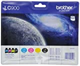 Brother LC-900 Original Tintenpatronen Value Pack (kompatibel mit verschiedenen Brother DCP- und MFC-Modellen)