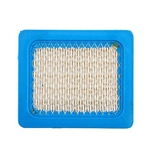 Carré filtres à air pour tondeuse à gazon Accessoires Importé Élément de filtre HEPA filtre en papier pour Briggs Stratton