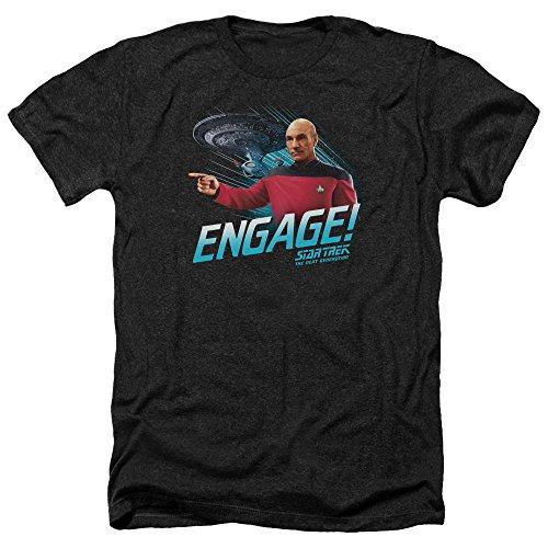 Star Trek Herren T-Shirt Schwarz