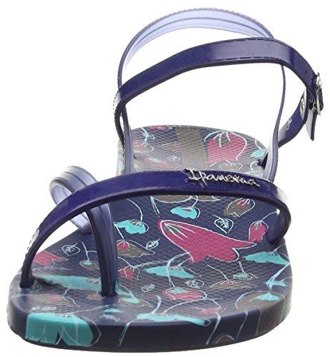 Ipanema Fashion Sand. III Fem - Infradito Donna Multicolore (blue 8040)
