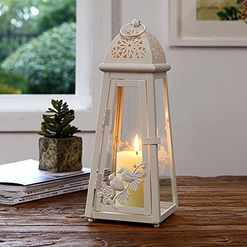 Qing Chen Colgante Moderno y Simple candelabro de forja Adornos Faro Creativa pájaro Ornamentos-A