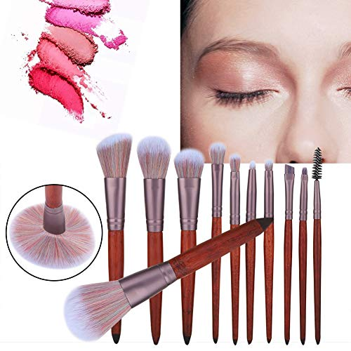 Rotekt Multifunktions-Make-up-Pinsel-Kit Foundation Blusher Lidschatten-Kosmetik-Werkzeug