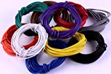 #9: PGSA2Z Branded 20 meter Multistand wires for DIY Electronics Projects (4 colors 5 mts each),Red